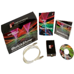 Pangolin Quick Show Laser Show Designer & Flashback 3 Interface