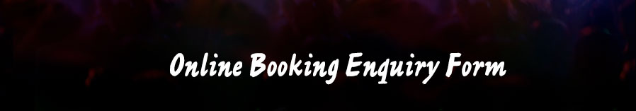 Online Booking Enquiry Form