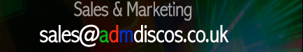 Sales and Marketing: sales@admdiscos.co.uk