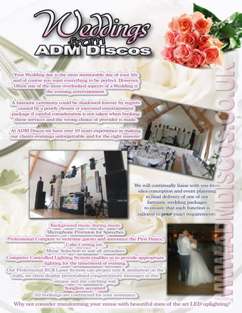 ADM Discos - Weddings
