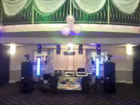 Christening Disco Set-Up