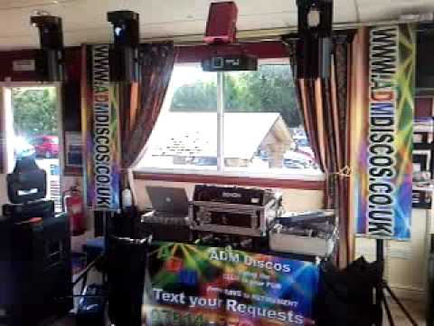 Stourport Marina Pub Disco Set-Up